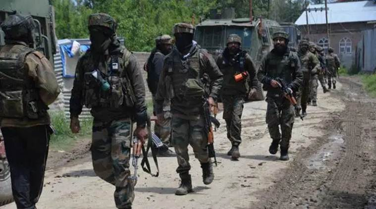 Three security personnel, five militants killed in encounter near LoC