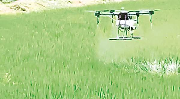 Indian farmers, indian agriculture, indian agriculture techniques, new agriculture techniques, drones, india news, indian express
