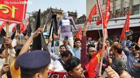 amit shah in kolkata, amit shah kolkata rally, amit shah kolkata protests, amit shah kolkata caa protests, cpm rally kolkata, kolkata city news