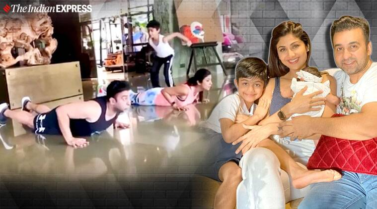 Here's how Shilpa Shetty is keeping her family fit during lockdown; watch video