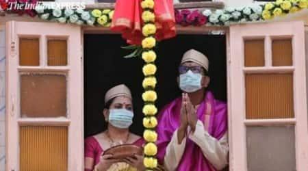 Gudi Padwa festival, indoor celebrations, social distancing, mumbai news, maharashtra news, indian express news