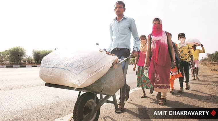 Over 500 migrants stuck in limbo at Gujarat border