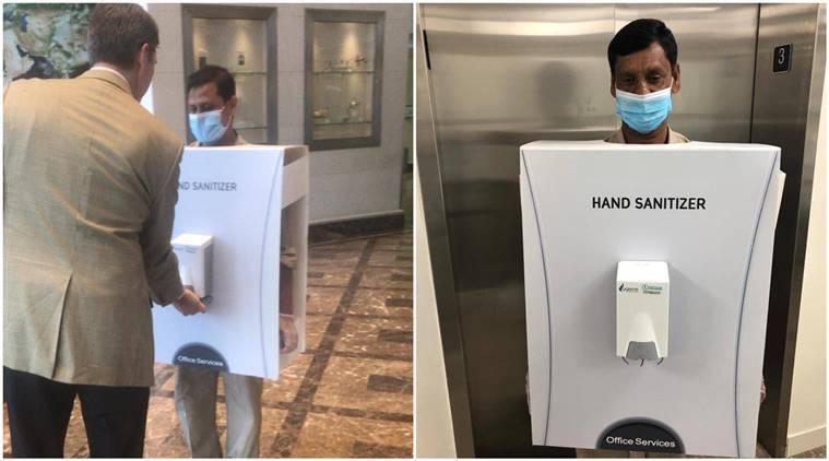 coronavirus, saudi arabia, saudi arabia human hand sanitizer, COVID-19, viral video,