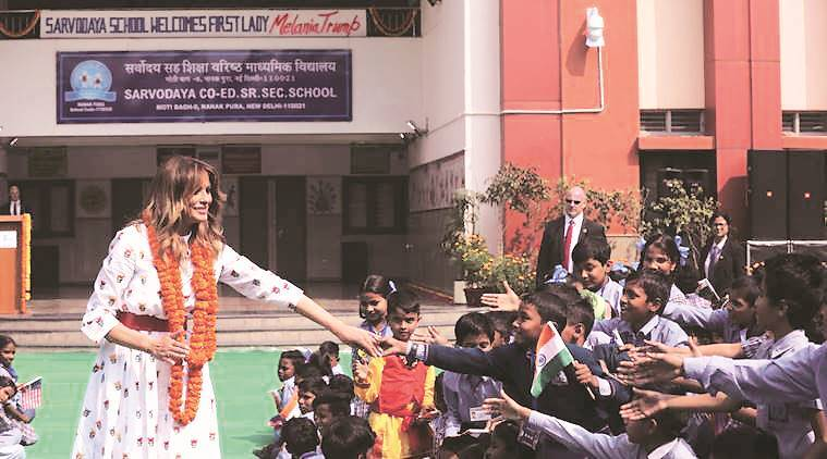 happiness cources in lucknow university, lucknow news, melania trump, lucknow city news, Indian express news, breaking news