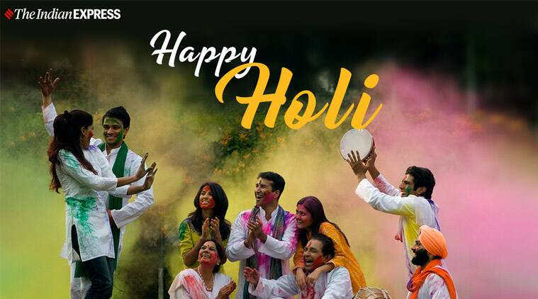 holi, holi 2020, holi images, happy holi, happy holi images, happy holi wishes, indian express news