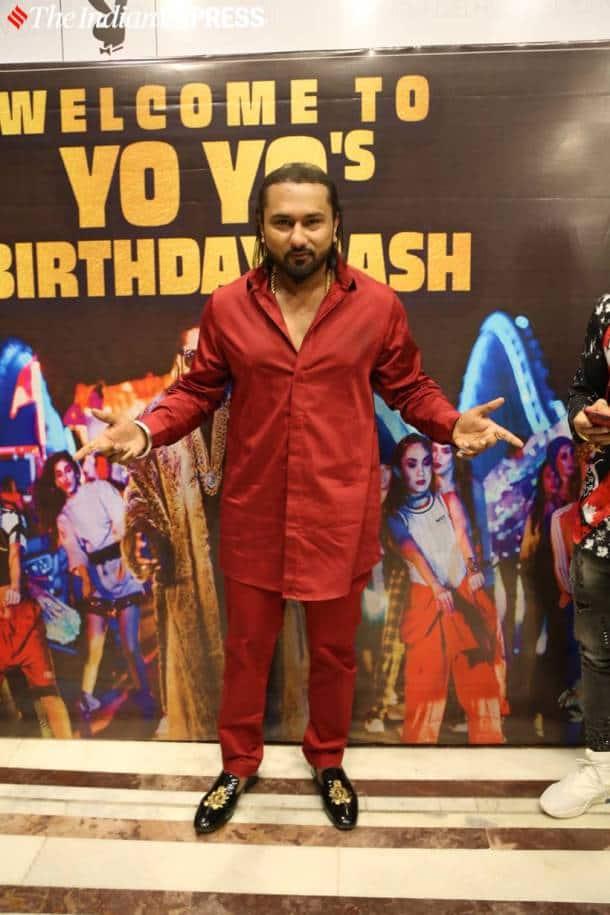 Honey Singh birthday bash