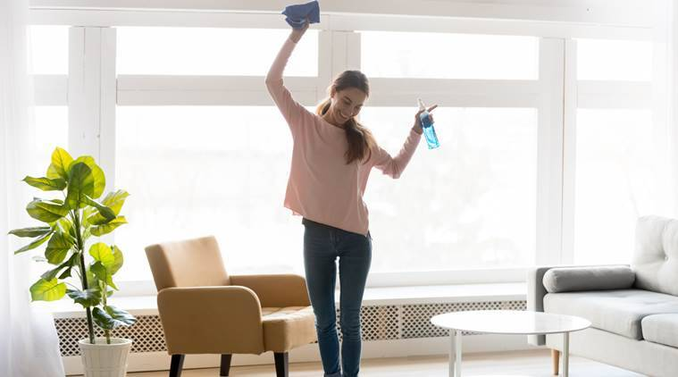 Want to burn calories sitting at home? Try doing these household chores
