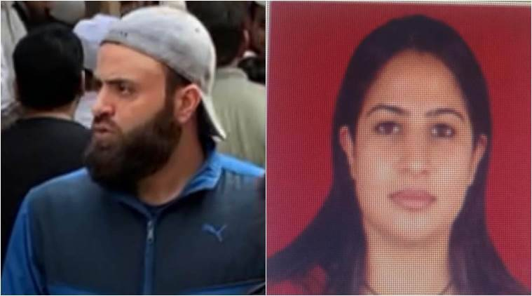isis, islamic state couple arrested, delhi islamic state, isis link couple detained from jamia, delhi couple anti-caa protests, delhi couple is links caa protests, delhi jamia caa protests, delhi news, indian express