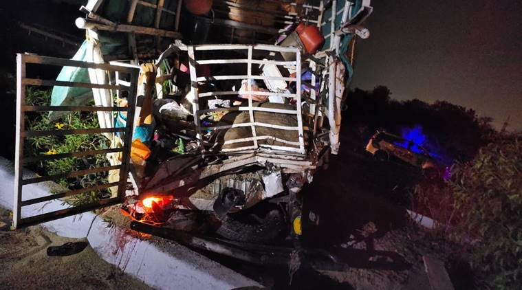 Hyderabad: Eight migrants returning home killed in road accident