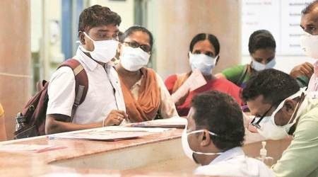 coronavirus cases, healthcare workers, work-from-home, self quarantine, in the city, leaves cancelled, chandigarh news, indian express news