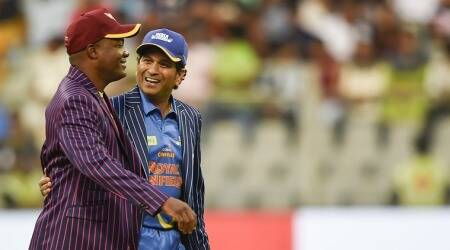 Sachin Tendulkar, Brian Lara send fans on nostalgia trip at Wankhede