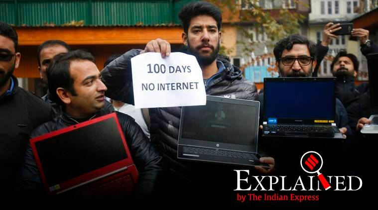 express explained, mac-binding, kashmir social media, J&K internet, J&K facebook, j&k news, jammu and kashmir, j&k internet restoration, kashmir lockdown, kashmir article 370, kashmir special status, kashmir news, indian express
