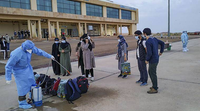 Indian pilgrims in Iran, Supreme court on evacuation from Iran, coronavirus Iran evacuation, Iran coronavirus outbreak, covid 19, indian express