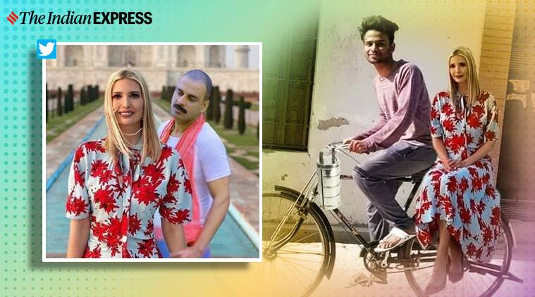 Ivanka Trump Flaunts New Friends She Made In India Leaves Netizens Rofl Ing Trending News The Indian Express