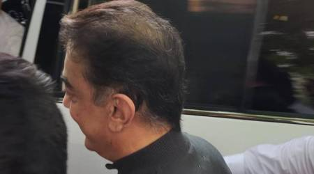 Chennai: Kamal Haasan appears before Central Crime Branch in connection with crane collapse accident on film set