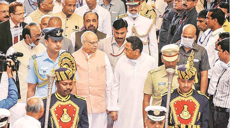 Madhya Pradesh: Governor writes to Speaker; suggests he quit, pro tem speaker be named