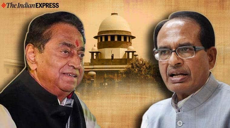 Madhya Pradesh crisis, MP crisis Shivraj Singh Kamal Nath, Kamal Nath MP government floor test, Indian Express news