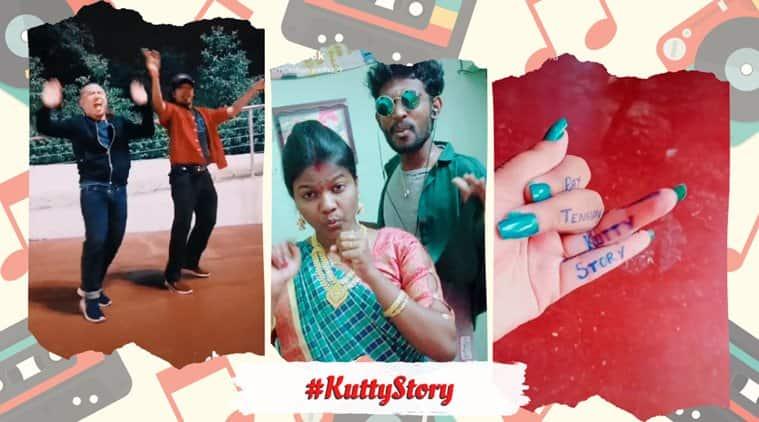 kutty story, Anirudh Ravichander kutty story, master kutty story, tiktok kutty story, kutty story challenge, tiktok videos, indian express