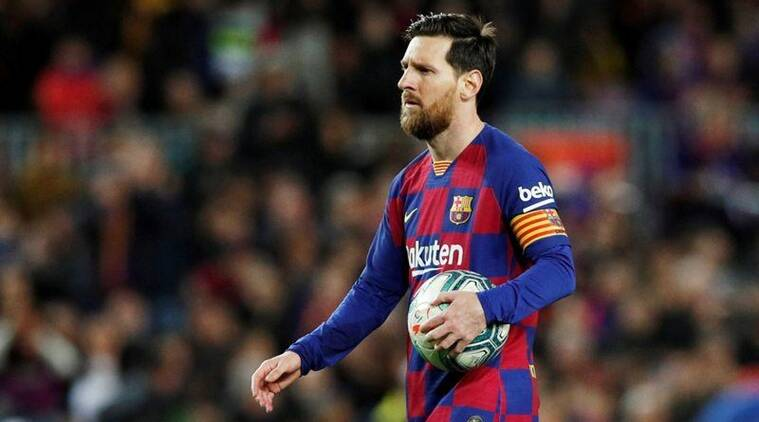 Lionel Messi confirms Barcelona players will take pay cut, criticises board