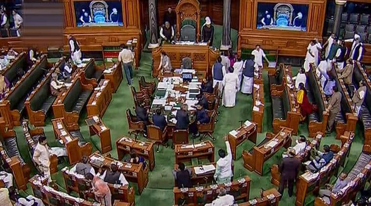 Suspension of 7 Congress Lok Sabha MPs withdrawn