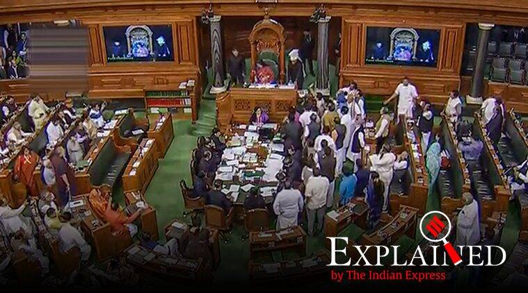 Explained: How an MP is suspended from Lok Sabha by the Speaker