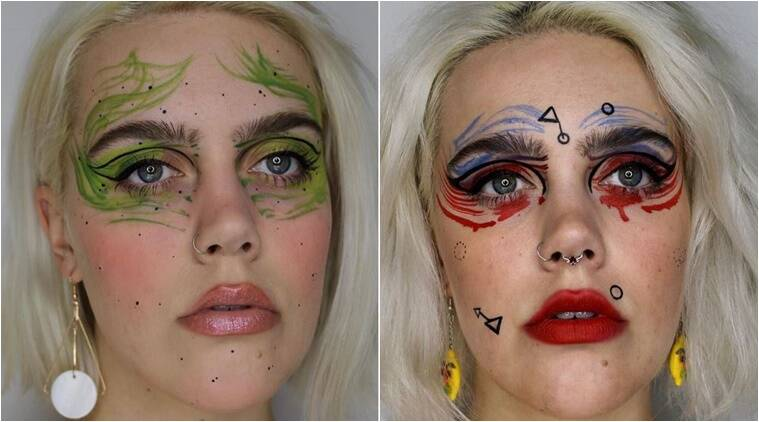 This bizarre beauty makeup will leave you oddly satisfied