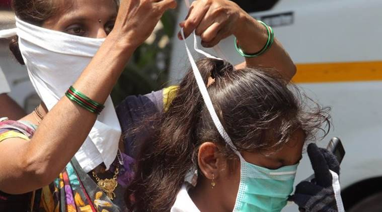 coronavirus, COVID-19, coronavirus face masks, coronavirus mask hoarding, goa coronavirus, goa news, indian express