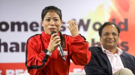 MC Mary Kom, Mary Kom, indianexpress.com, indianexpress, life positive, inspiring speech, inspiring talk, mary kom, tokyo olympics mary kom, who is mary kom, mary kom boxing, boxing india,