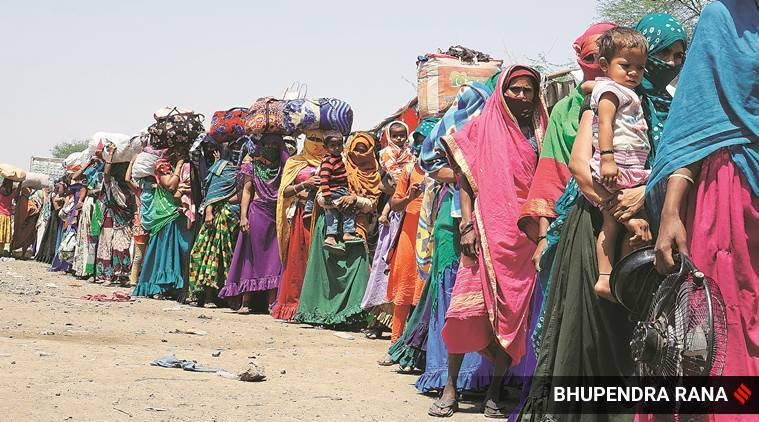 migrant labour crisis, India lockdown, Tariq Thachil interview, migrant labour movement, indian express