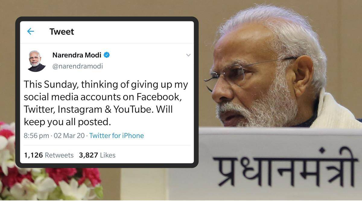 Image result for pm modi latest tweet
