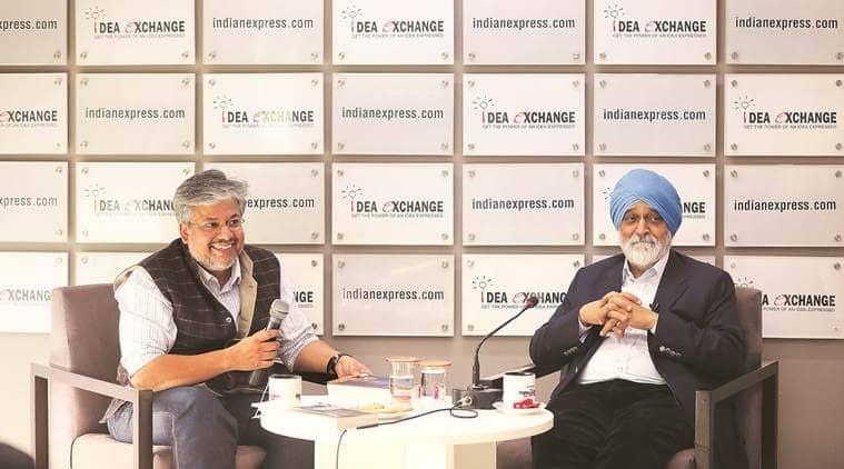 Montek Singh Ahluwalia, Planning Commission, Montek Singh Ahluwalia Idea Exchange, Idea Exchange, Idea Exchange Montek Singh Ahluwalia, India news, Indian Express