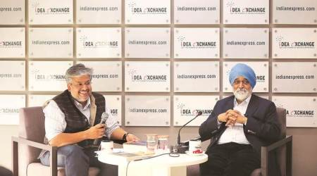 Montek Singh Ahluwalia, Planning Commission, Montek Singh Ahluwalia Idea Exchange, Idea Exchange, Idea Exchange Montek Singh Ahluwalia, India news, Indian Express