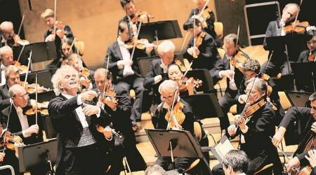 Coronavirus outbreak, Berlin Philharmonic orchestra, virtual concert, streaming platforms, indian express news