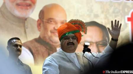 Trinamool Congress, BJP, Gorkha Janmukti Morcha, GJM, GJM leaders, BJP president JP Nadda, JP nadda sons wedding, kolkata news, india news, indian express