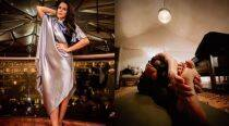 Neha Dhupia just showed how flexible she is by doing this yoga asana