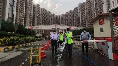 Another coronavirus case, Noida high-rise residents told to stay indoors
