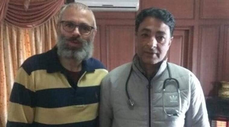Another picture of Omar Abdullah surfaces on social media