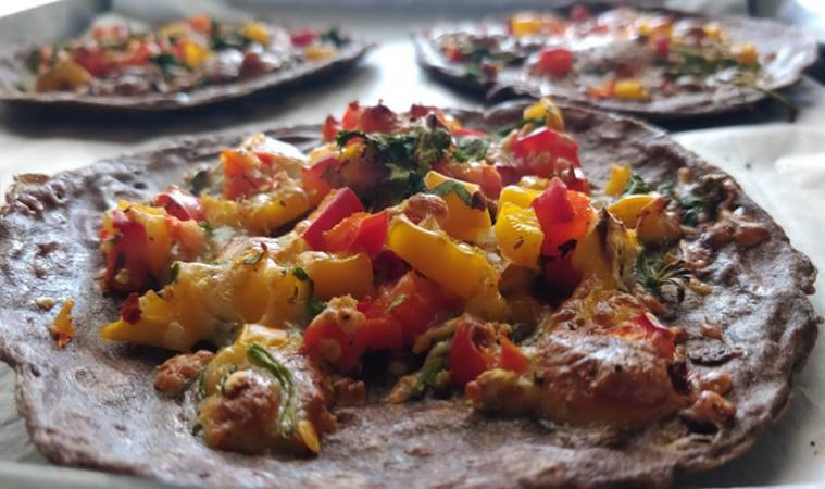 pancake pizza, healthy eating, diet, indian express news