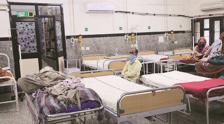 Panchkula: Emergency ward vacant, spike in cases of anxiety, common flu