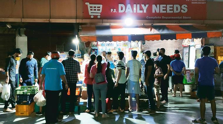 Covid-19: Noida, Ghaziabad residents indulge in 'panic buying' as UP govt announces sealing 'hotspots'