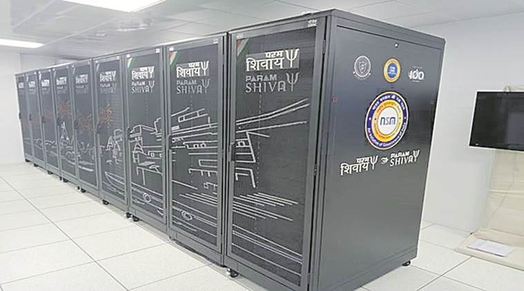 In four years of a national mission, total supercomputers built: three