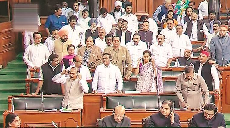 delhi violence, om birla on northeast delhi violence, lok sabha speaker on delhi violence, government discussion on delhi violence, delhi news, indian express