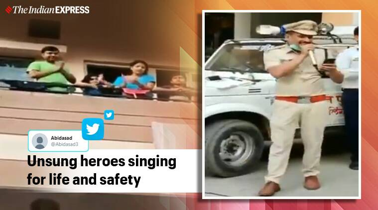 Chhattisgarh cop gives a 'coronavirus twist' to iconic song 'Ek Pyaar Ka Nagma Hai'. Have you heard it?