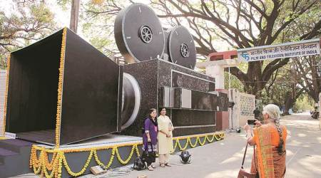 FTII, FTII pune, Film and Television Institute of India, FTII installation-cum-exhibition, FTII camera installed, pune news, indian express