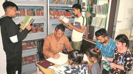 punjab library, punjab old library, Shahhed bhagat sing library, punjab revolutionary village, punjab news, books, indian express