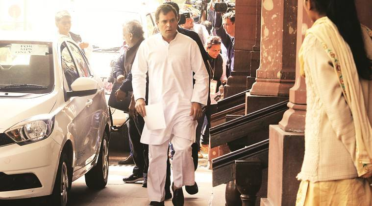 Ruckus In Lok Sabha After Rahul Gandhi Asks Govt To Name Top 50 Wilful Bank Defaulters India News The Indian Express