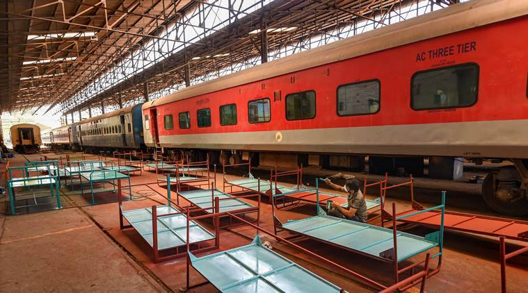 Rly converts 2500 coaches into isolation wards for coronavirus patients