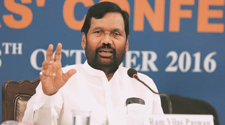 Coronavirus cases, Covid 19 test, india lockdown, Ram Vilas Paswan, Ration distribution, Indian express news
