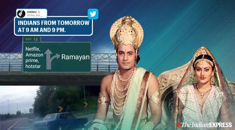 As iconic Ramayana serial is back on air, social media is full of memes about it