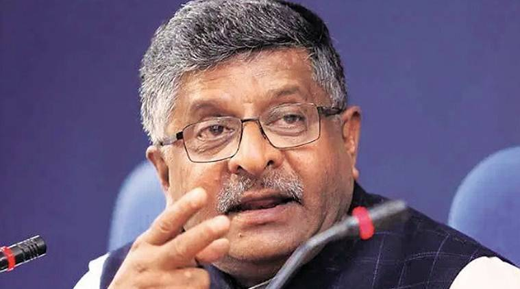 Ravi shankar prasad, cabinet clears money, electrnic equipment,economy news, business news, indian express